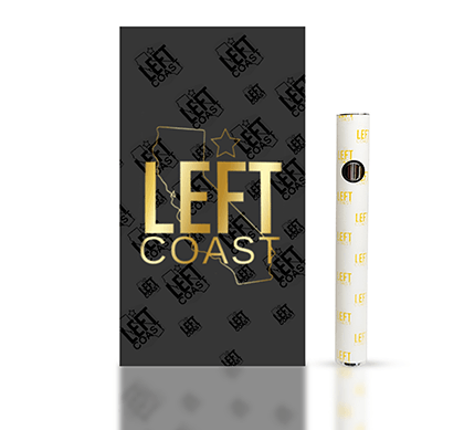 Left Coast Extracts Battery Kit GOLD EDITION
