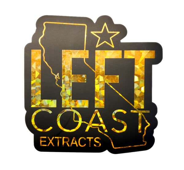 Left Coast Extracts | Left Coast Sticker