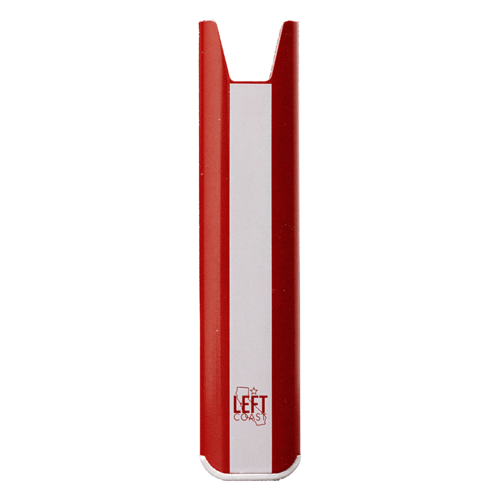 Left Coast 510 Thread Battery Red