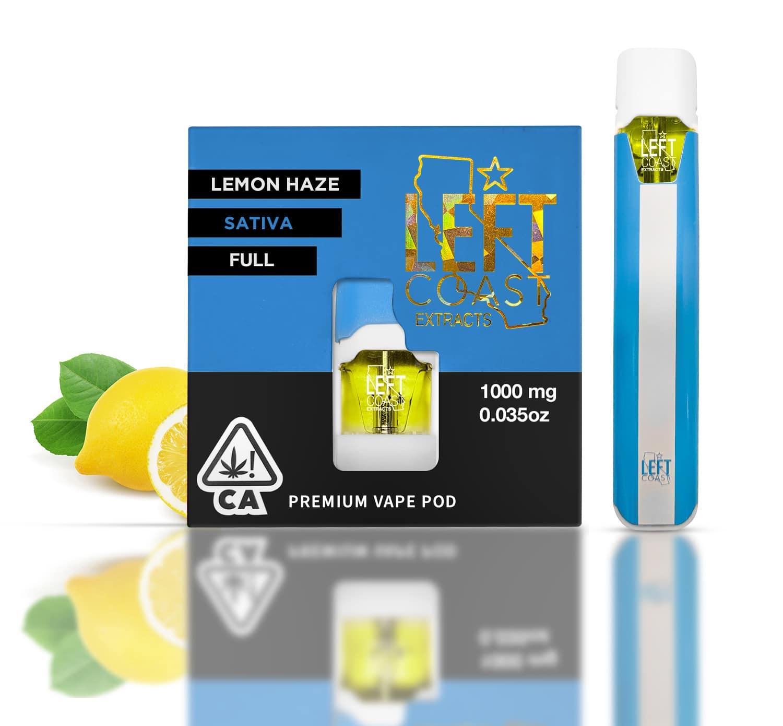 lemon haze pod full